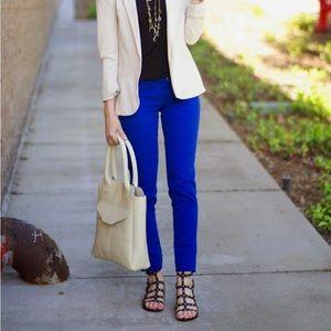 Flying Monkey Cobalt Blue Skinny Jeans
